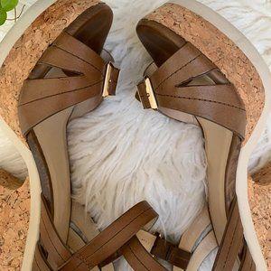 Jimmy Choo Nemesis Chunky Leather Heel